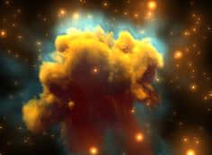 Amazing Nebula in Space