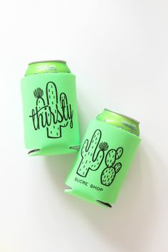 thirsty cactus can cooler by Sucre Shop | Sucre Shop