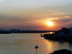 Le couché de soleil depuis notre hôtel #instantVDS16