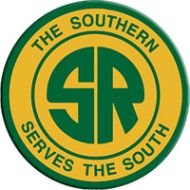 """The Southern Railway was one of the most well-managed and financially successful systems ever operated. It lived up to its slogan """"The Southern Serves the South"""" very well. It merged with Norfolk & Western in 1982 creating today's Norfolk Southern. South African Homes, Railway Jobs, Southern Railways, Norfolk Southern, Train Pictures, Southern Sayings, Sea To Shining Sea, Old Trains, Western Homes"""