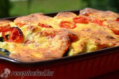 Érdekel a receptje? Kattints a képre! Hungarian Recipes, Hungarian Food, Meat Recipes, Love Food, Quiche, Cauliflower, French Toast, Paleo, Food And Drink