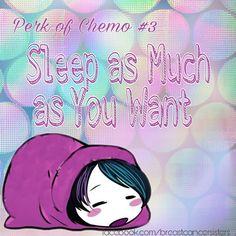 #perksofchemo #chemo #chemotherapy #sleep #sleepingbeauty