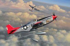 Lt. Bob Friend´s Mustang! of 301ºFS 332ºFG.