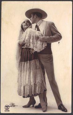 Flamenco Dancers postcard