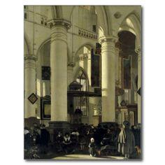 Emanuel de Witte - Interior of a Church - Hamburger Kunsthalle, Hamburg, Germany