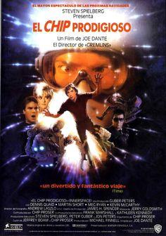 """El chip prodigioso"", ""Innerspace"" (1987). COUNTRY: United States. DIRECTOR: Joe Dante."