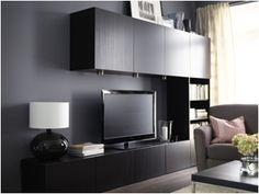 IKEA BESTA: Televizyonunuz kadar TV üniteniz de dikkat çeksin.