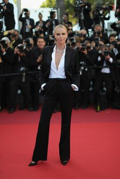 Charlize Theron Pictures 'The Last Face' - Red Carpet Arrivals - The 69th Annual Cannes Film Festival -