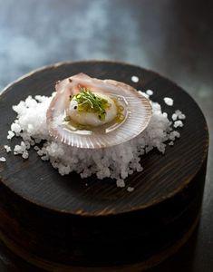 Scallop by Alan Benson Photography Seafood Restaurant, Restaurant Recipes, Chefs, Good Food, Yummy Food, Yummy Lunch, Molecular Gastronomy, Creative Food, Food Design