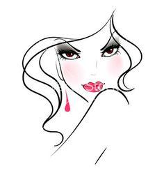 Resultado de imagen para blusa femenina vectorizada en inkscape