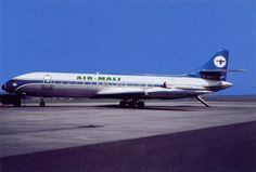 Air Mali, Caravelle III, F-BRUJ in 1967