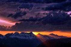 Sunset at Logan Pass by Kim Kozlowski on 500px