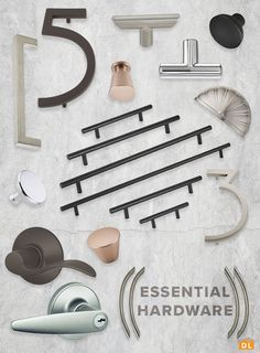 Shop DestinationLighting.com for all of your hardware essentials! House numbers, cabinet pulls, knobs, and levers galore!