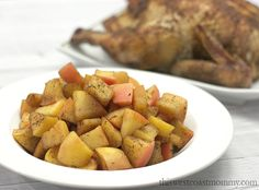Forget the breadcrumb stuffing this holiday dinner and use apples instead! Apples make a fantastic stuffing and side dish, and they're naturally gluten-free.