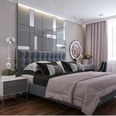 Classic bedroom decor - Fabulously Transform Bedroom Decor for Romantic Retreat Classic Bedroom Decor, Modern Luxury Bedroom, Luxury Bedroom Design, Bedroom Bed Design, Stylish Bedroom, Luxurious Bedrooms, Bedroom Ideas, Cozy Bedroom, Classic Bed Room