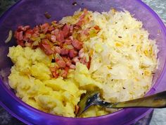 Polish Recipes, Polish Food, Potato Salad, Mashed Potatoes, Cabbage, Food And Drink, Rice, Dishes, Cooking