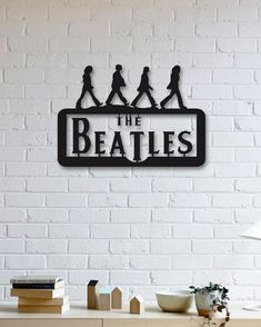 The Beatles Metal Poster