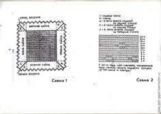 Мастер-класс предназначен для совсем начинающих. Для тех, кто хочет связать оренбургский платок, но даже не представляет с чего начать. В журнале 'Работница' сто лет тому назад было выставлено описание. По нему и разберем. Распечатываем листы и сразу их нумеруем. Листы можно увидеть внизу. Лист с рисунком будет номер 11. Вяжем по описанию первый и второй угол.