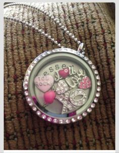 "Valentines Day locket.  To order:  www.angeladewine.origamiowl.com   ""Like"" me on Facebook for sales, information and events! www.facebook.com/angelasorigami"