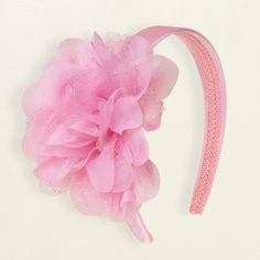 option for Lullaby League; tulle flower headband available in pink, white, or lilac to match dress, $4.45 and 20% of on 2/20 | The Children's Place