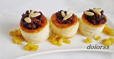 Hay que ver el juego que nos pueden dar estos volovanes de hojaldre , sirven para…  dulce, salado, bocadito de media tarde, cena, aperitiv...