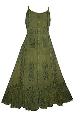 1005 Agan Traders Gypsy Evening Party Summer Sleveless Dress [3X, Green] Agan Traders http://www.amazon.com/dp/B00LXO0C1E/ref=cm_sw_r_pi_dp_NaQ5ub15XK9JA