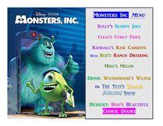 Disney Meal #55 - Monsters Inc.