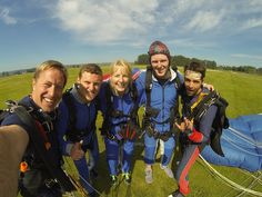 Two Teens And Their Mama: Be Brave and Skydive