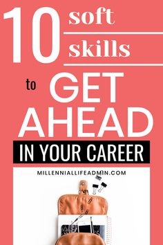 To get ahead in your career, you will need more then technical skills. Career advancement is all about developing soft skills. These are the 10 soft skills you need and how to develop them! Career Help, Career Advice, Career Change, Job Career, Career Coach, Leadership Development, Communication Skills, Personal Development, Job Search Tips