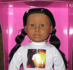 NEW-Gali-Girls-18-Play-Doll-Dark-Hair-Lotus-Queen-Esther-Outfit-Hanukkah