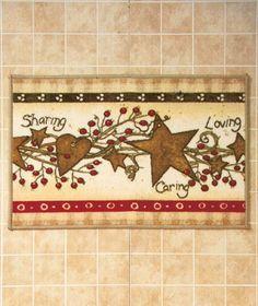 KNLstore Linda Spivey Country Hearts and Stars Pip Berries Kitchen Bathroom Bath Rug Mat KNL Store http://www.amazon.com/dp/B00CILGWKG/ref=cm_sw_r_pi_dp_bKbbwb1M3SEW5