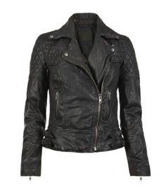 http://www.ebay.com/itm/ALL-SAINTS-Walker-black-leather-jacket-700-biker-moto-motorcycle-lang-S-M-NWT-/140645948154?_trksid=p3286.m7&_trkparms=algo%3DLVI%26itu%3DUCI%26otn%3D3%26po%3DLVI%26ps%3D63%26clkid%3D4457676535864487661 All Saints Walker Leather Jacket.
