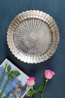 Serendiva Puja Thaal from Good Earth #BirdalWishlist #Festive #HandCrafted #SilverPlated