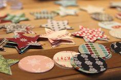 3d garland how-to #christmas #decor