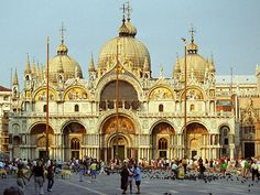 St. Mark's Square in Venice, Italy.  Where you feed the birds...in tons of movies!