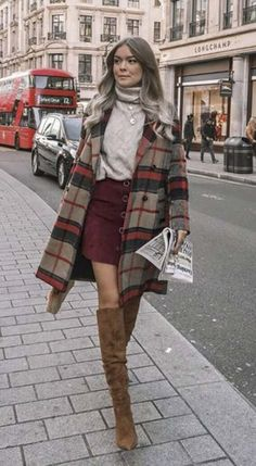 winter outfits formales Stylish Fall Outfits t - winteroutfits Stylish Winter Outfits, Cute Fall Outfits, Autumn Fashion Casual, Fall Fashion Outfits, Fall Winter Outfits, Casual Fall, Look Fashion, Autumn Winter Fashion, Women's Casual