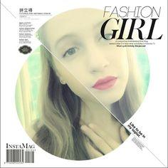 My new magazine for ELLE follow me on instagram carolinebalintova1313