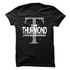 nice It's an THURMOND thing, THURMOND Last name, Surname T-shirt