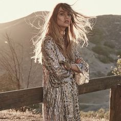 @freepeople • Instagram | Sneak peek of our recent shoot with @joannahalpin and photographer @zoeygrossman #easternstar #holiday #goldenhour