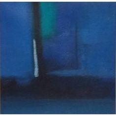 Esti fényjáték, absztrakt festmény, vászon Abstract Landscape, Landscapes, Paisajes, Scenery