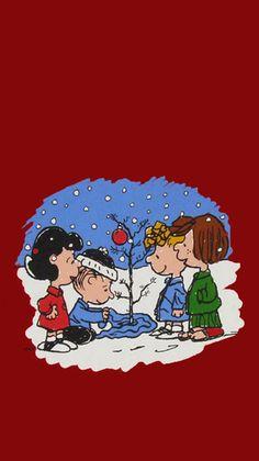 Christmas Lockscreen, Holiday Iphone Wallpaper, Holiday Wallpaper, Cartoon Wallpaper, Snoopy Wallpaper, Disney Wallpaper, Christmas Yard Art, Happy Merry Christmas, Peanuts Christmas