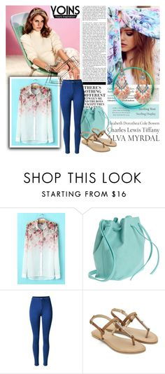 """Yoins must have shirt"" by beenabloss ❤ liked on Polyvore featuring Nicki Minaj, Tiffany & Co., Mint & Rose and yoins"