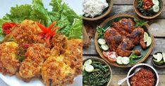 Cocok nih bagi penggemar makanan ayam. Indonesian Desserts, Indonesian Food, Indonesian Recipes, Okra, Tandoori Chicken, Chicken Recipes, Recipies, Food And Drink, Cooking Recipes