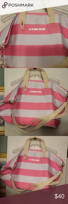 Victoria's Secret large duffle bag New with tag, great bag Victoria's Secret Bags Totes