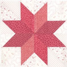 LeMOYNE STAR BLOCK WITHOUT SET-IN SEAMS Free video demonstration of this cool technique Featured in the September/October 2015 issue of McCall's Quilting