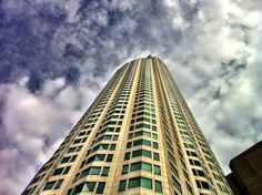 Downtown  LA scraping the sky Matt Blitz