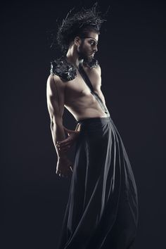 'Drogo' (from Game of Thrones) Photo: Cristina Ivascu Concept: Dany Ignat Backless, Concept, Game, Dresses, Fashion, Fashion Styles, Gaming, Dress, Toy