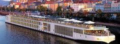 Viking River Boat Cruises.Viking has at least 30 Longships in it's fleet and growing. Each longship holds 190 passengers and is 443 feet long. Cruises are avaivable in Europe, Germany, France, Portugal, Spain, Russia, Ukraine, china & Southeast Asia. http://www.vikingrivercruises.com