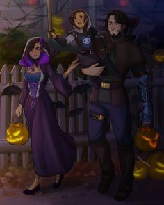 Trick or treat by limach-an on DeviantArt Overwatch Hanzo, Overwatch Comic, Overwatch Memes, Overwatch Fan Art, Video Game Anime, Video Games, Overwatch Video Game, Arte Pop, Paladin
