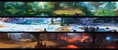 ArtStation - 3BGs, Dawnpu at Art vision studio